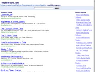 coastaldecors.com screenshot