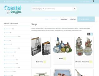 coastaldesigns.com.au screenshot