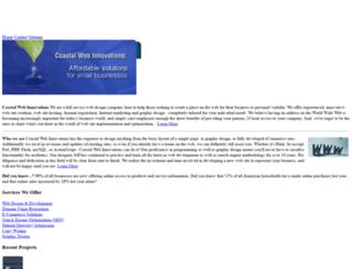 coastalwebinnovations.com screenshot