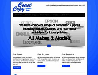 coastcopysystems.ca screenshot