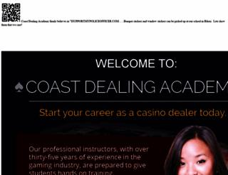 coastdealingacademy.com screenshot