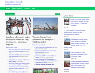 coasternewsnetwork.com screenshot