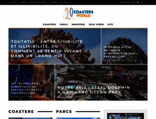 coastersworld.fr screenshot