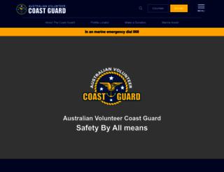 coastguard.com.au screenshot
