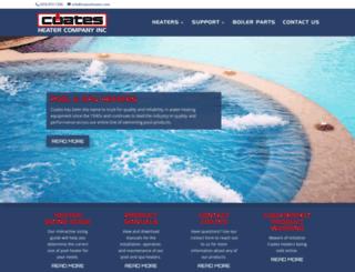 coatesheater.us screenshot