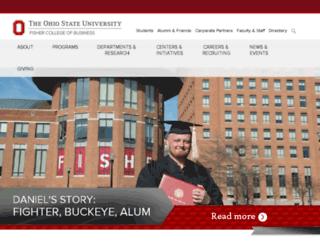 cob.ohio-state.edu screenshot
