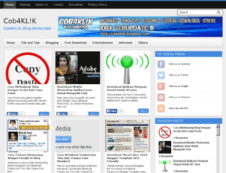 cob4klik.blogspot.com screenshot