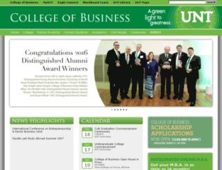 coba.unt.edu screenshot