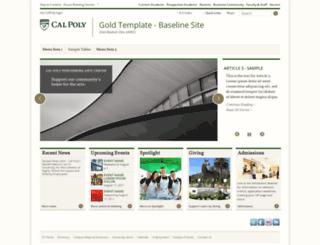 cobalt.calpoly.edu screenshot
