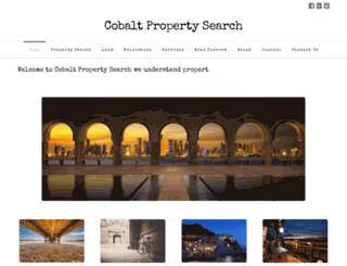cobaltpropertysearch.com screenshot