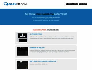 coblk.darkbb.com screenshot