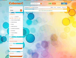 cobones.com screenshot