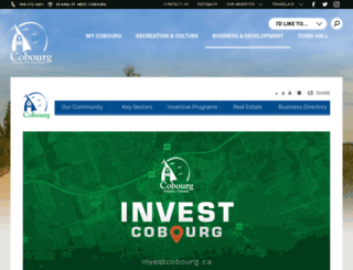 cobourgecondev.ca screenshot