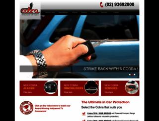 cobra-aust.com.au screenshot