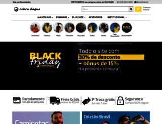 cobradagua.com.br screenshot