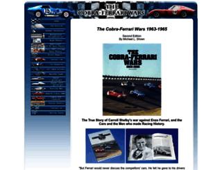 cobraferrariwars.com screenshot