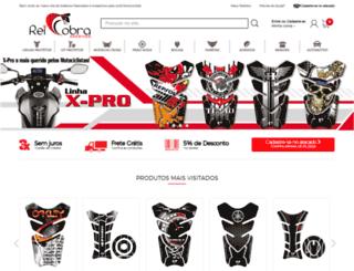 cobramotoparts.com.br screenshot