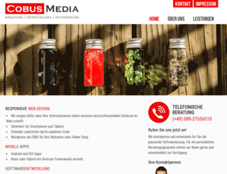 cobus-media.com screenshot