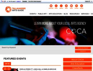 cocanet.org screenshot