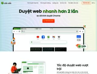 coccoc.vn screenshot