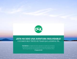 cochabambacity.olx.com.bo screenshot