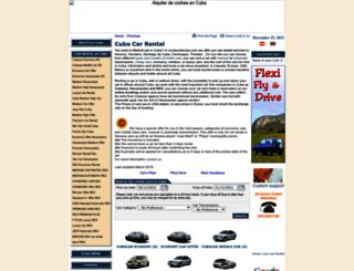 cochecubacars.com screenshot