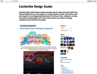 cochenilledesignstudio.blogspot.com screenshot