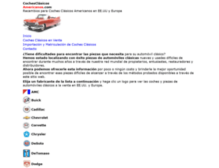 cochesclasicosamericanos.com screenshot
