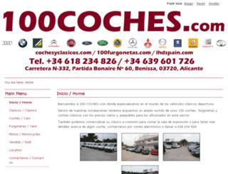 cochesyclasicos.com screenshot