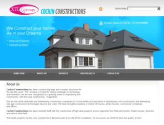 cochinconstructions.com screenshot