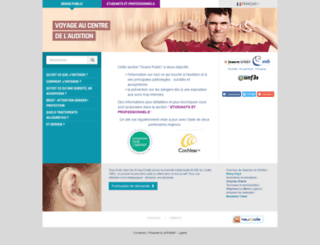 cochlea.org screenshot