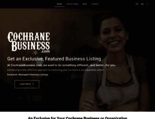 cochranebusiness.com screenshot