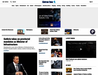 cochranetimes.com screenshot