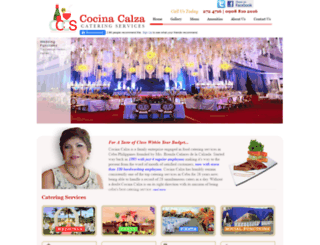 cocinacalza.com screenshot