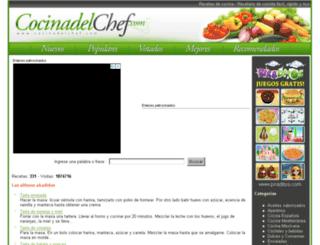 cocinadelchef.com screenshot