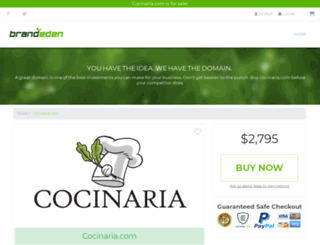 cocinaria.com screenshot
