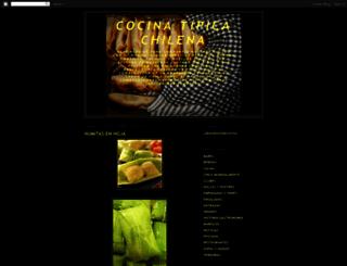 cocinatipicachilena.blogspot.cl screenshot
