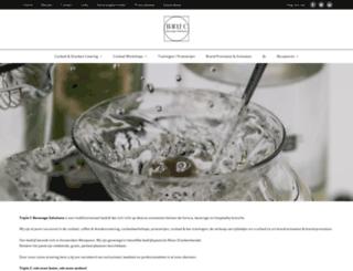 cocktailcatering.nl screenshot