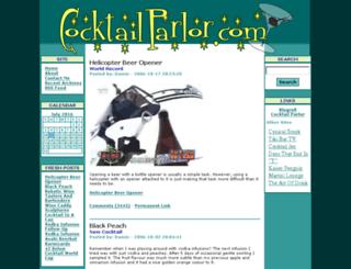 cocktailparlor.com screenshot