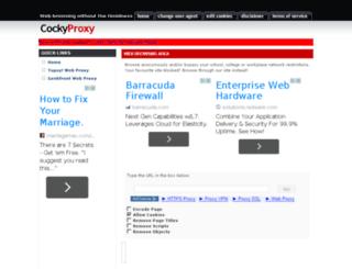 cockyproxy.com screenshot