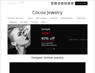 cocoajewelry.com screenshot