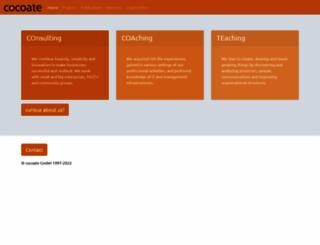 cocoate.com screenshot