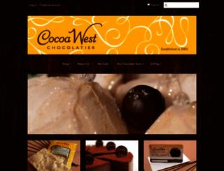 cocoawest.myshopify.com screenshot