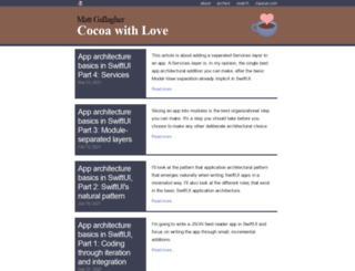 cocoawithlove.com screenshot