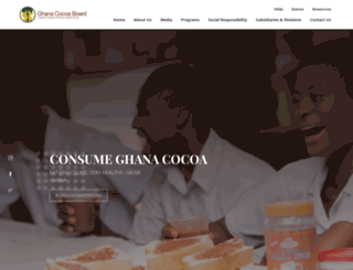 cocobod.gh screenshot