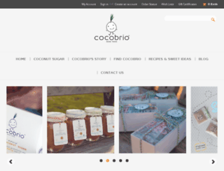 cocobrio.com screenshot