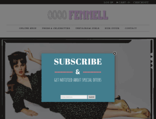 cocofennell.com screenshot