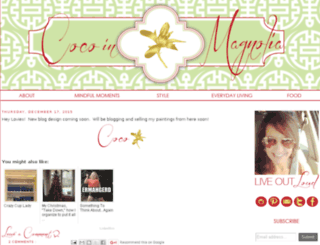 cocoinmagnolia.com screenshot