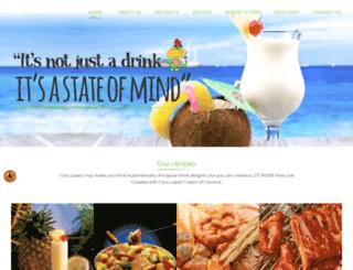 cocolopez.com screenshot