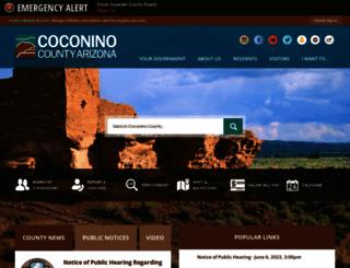 coconino.az.gov screenshot